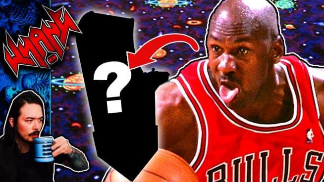 The rare version of NBA JAM with Michael Jordan