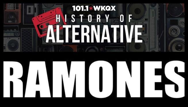 Listen to the Ramones play Northwestern University