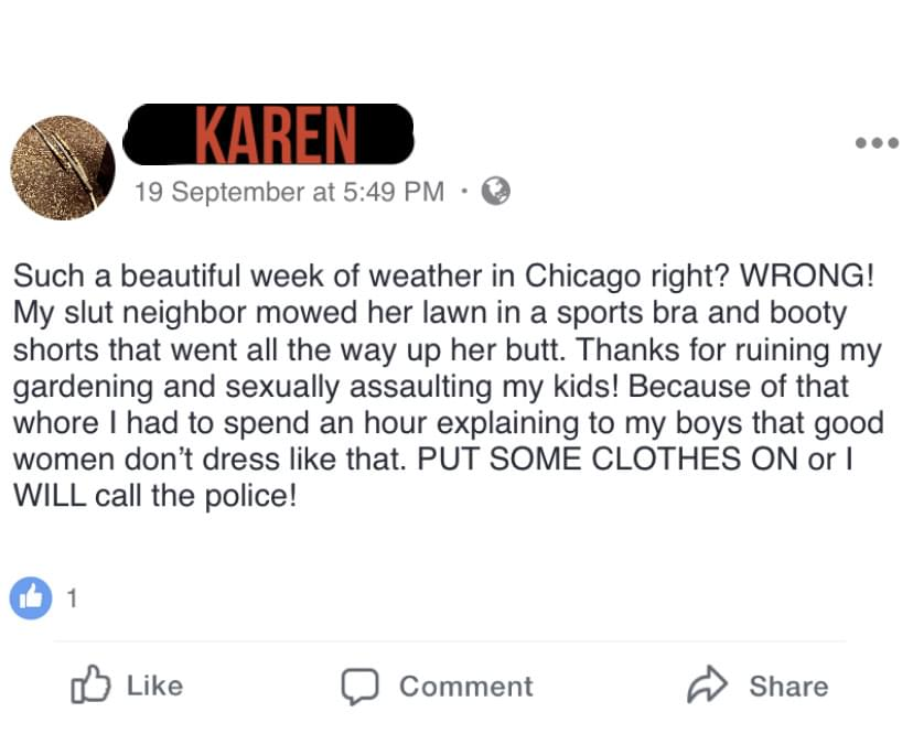 Whose Karen is it?