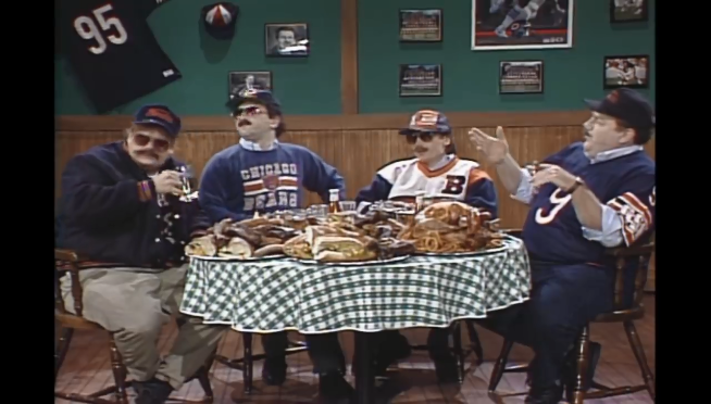 Da Bears! Watch the hilarious history of SNL's 'Superfans'