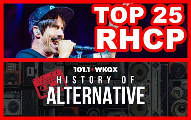 History of Alternative: Top 25 Red Hot Chili Peppers songs