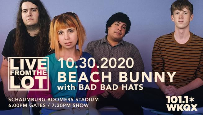 10/30/20 – Beach Bunny – Live From The Lot