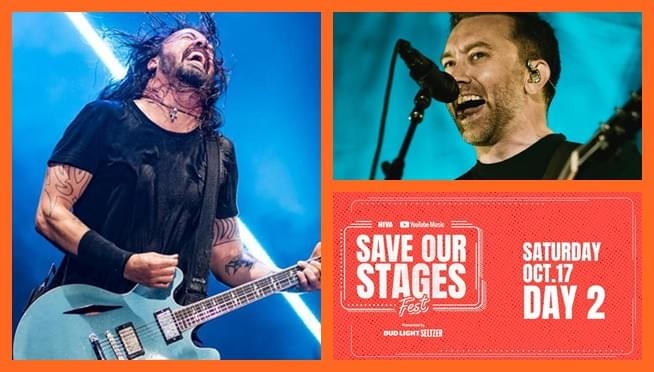 Stream Save Our Stages Festival with Foo Fighters, Rise Against, and more