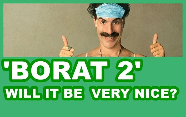 The reviews are in on 'Borat 2'