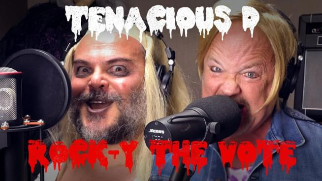 Tenacious D rock the vote with Rocky Horror's 'Time Warp'