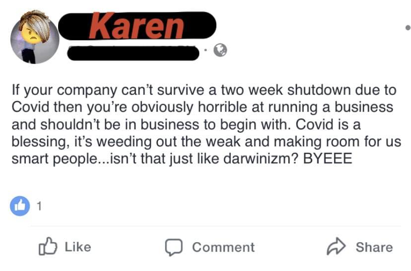 Whose Karen is it?