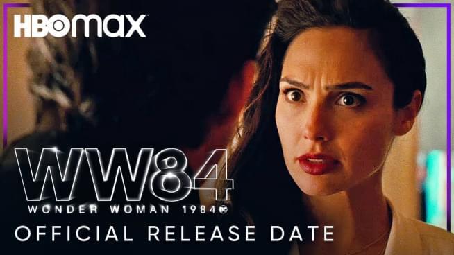 'Wonder Woman 1984' coming to HBO Max on Christmas