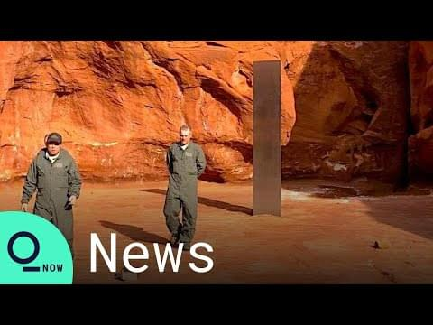 Mysterious metal structure discovered in Utah desert
