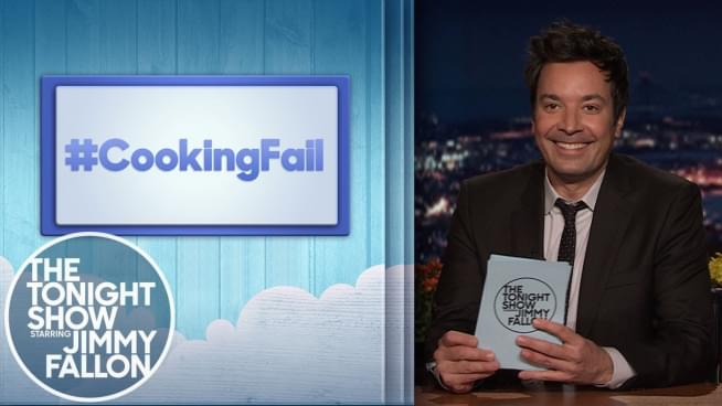 Jimmy Fallon shares hilarious cooking failures for Thanksgiving