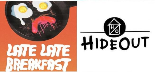 'Late Late Breakfast' livestream: Comedians fight silly challenges for the Hideout