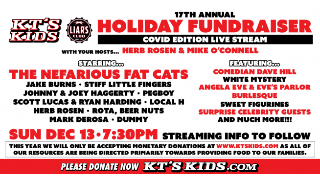 KT's Kids 17th annual holiday fundraiser is this Sunday!
