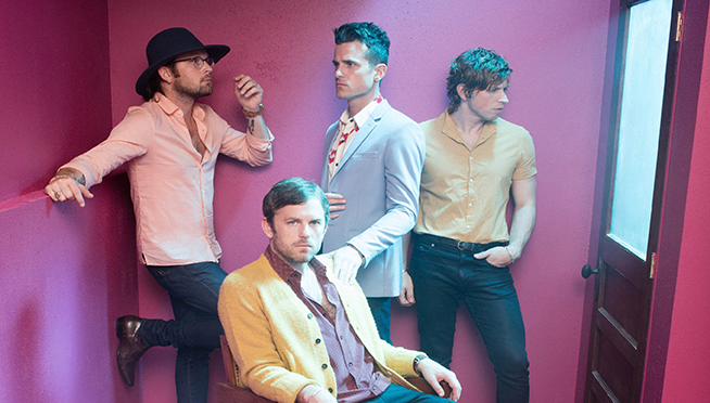 "Kings of Leon give a gift — teasing new song ""Must Catch The Bandit."""