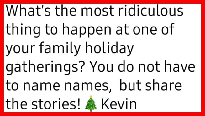 The best ridiculous Christmas holiday family stories