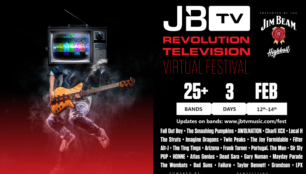 JBTV 3-day virtual music festival is this weekend!