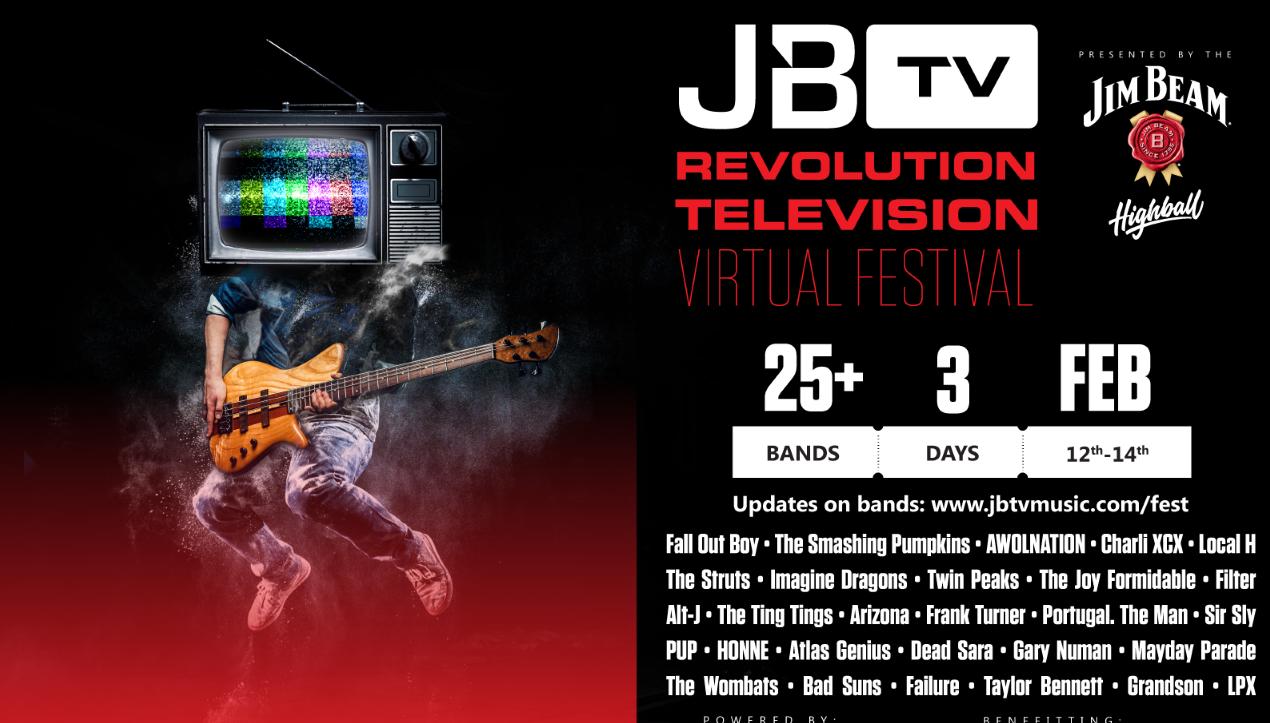 JBTV 3-day virtual music festival is this weekend!