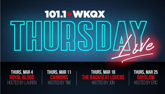 101WKQX Thursday Live