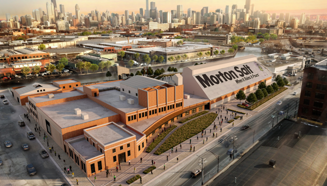 Old Morton Salt factory to become new Chicago music venue