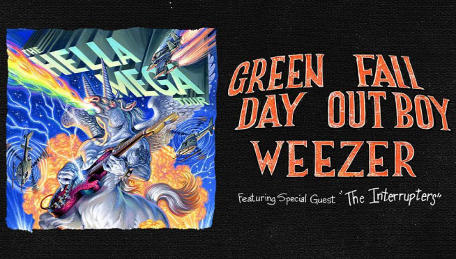8/15/21 – The Hella Mega Tour – Green Day / Fall Out Boy / Weezer