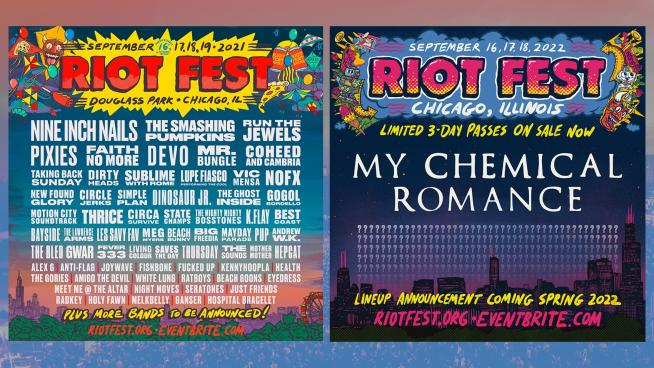 9/17/21 – 9/19/21 – Riot Fest
