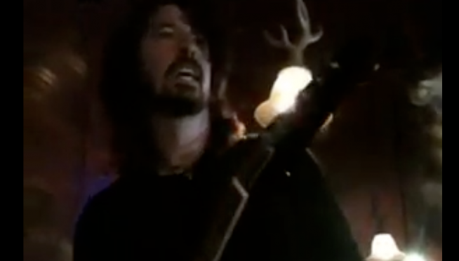 """Dave Grohl teams up with daughter Violet to cover """"Nausea"""" by punk legends X"""