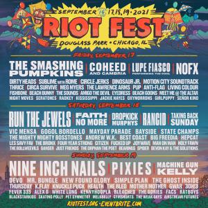 9/17/21 – 9/19/21 – RIOT FEST 2021