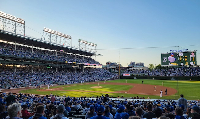 More proof nature is healing- MASSIVE beer snake spotted at Wrigley Field