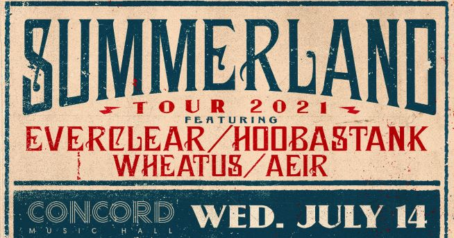 7/14/21 – Summerland Tour 2021