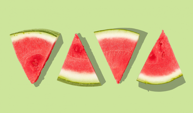 GROSS- People are putting mustard on watermelon