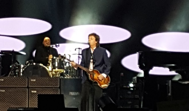 Paul McCartney and Beck team up for a good song, trippy video.