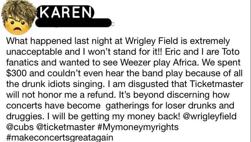 A Hella Mega Karen: Whose Karen Is It?