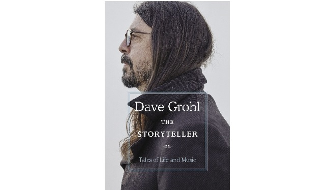 Dave Grohl's new book arrives tomorrow!