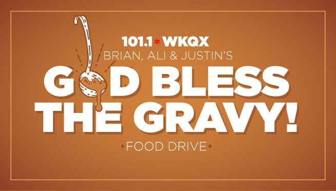 Brian, Ali, & Justin present the First Annual 'God Bless the Gravy' Food Drive