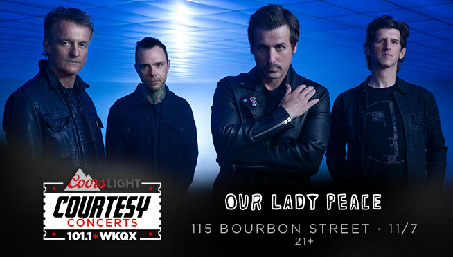 11/7/21 – 101WKQX Courtesy Concert with Our Lady Peace
