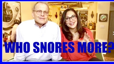 WHO SNORES MORE?