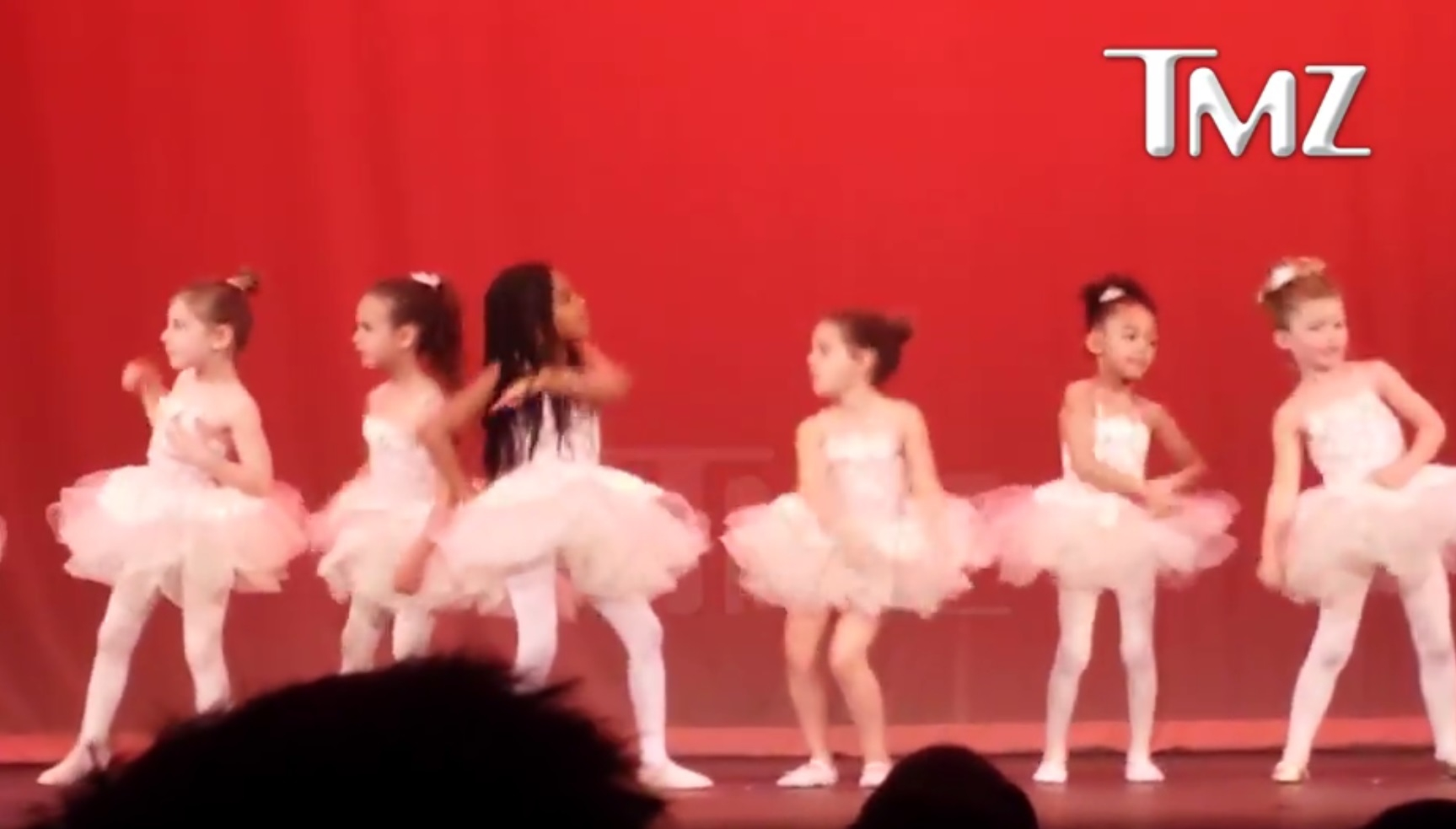 BLUE IVY CARTER DAZZLES AT BALLET RECITAL