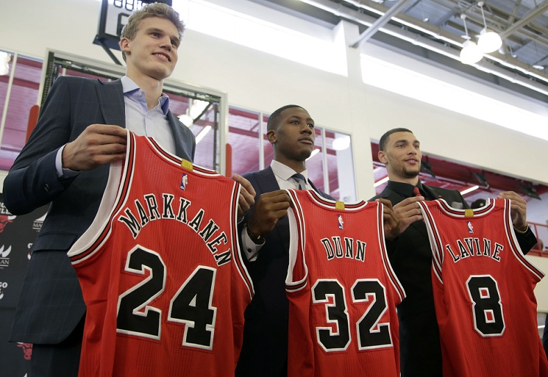 Bulls Introduce Newest Additions