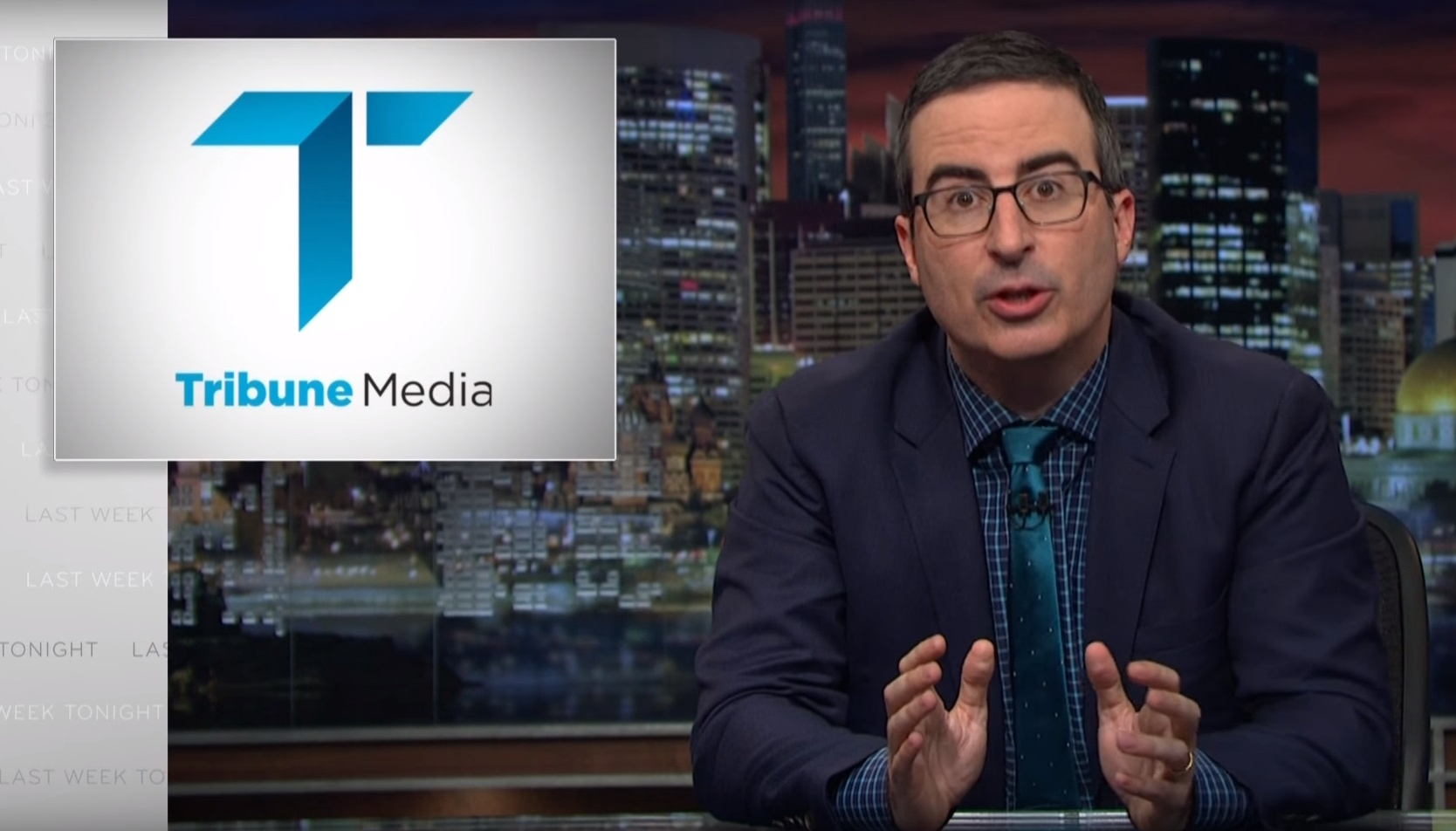 John Oliver on the Sinclair Broadcast Group [NSFW]