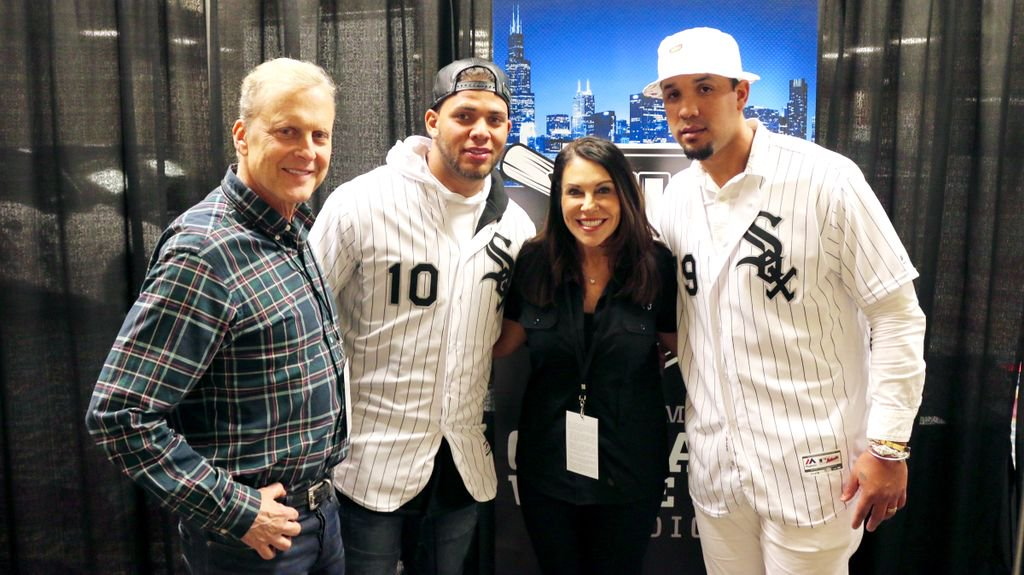 Sirott and Murciano chat with Yoan Moncada And Jose Abreu