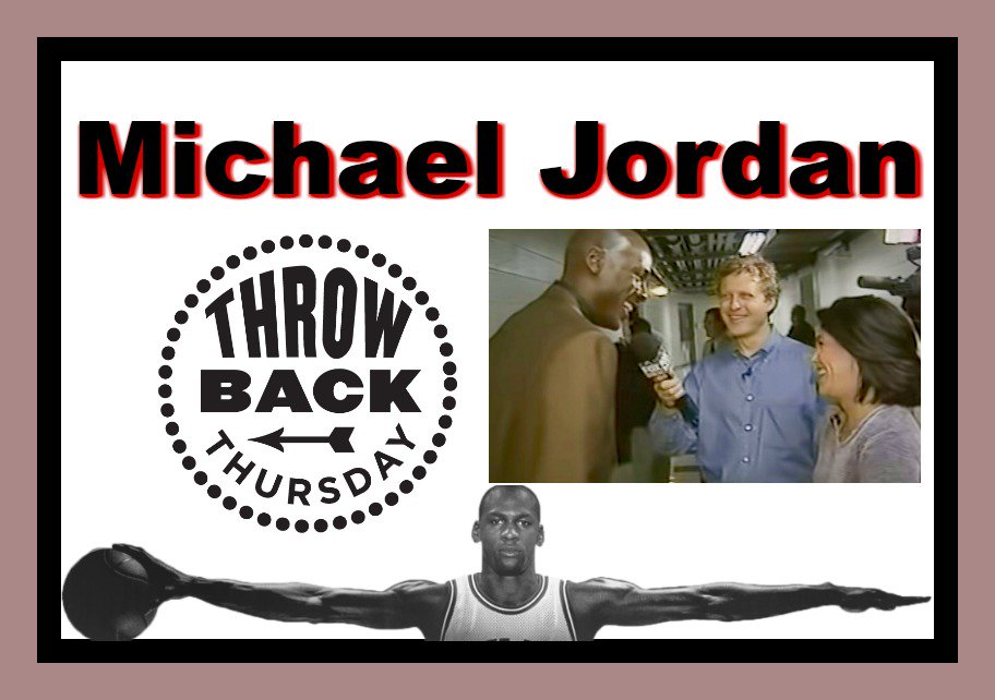 Throwback: Sirott and Murciano with Michael Jordan