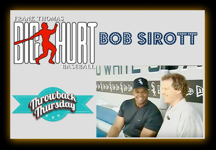 Throwback: Frank Thomas Educates Cubs Fan Bob Sirott