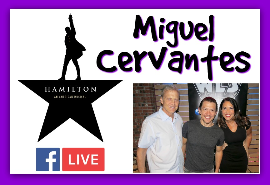 Sirott and Murcinao: Hamilton's Miguel Cervantes Sings for his Daughter!