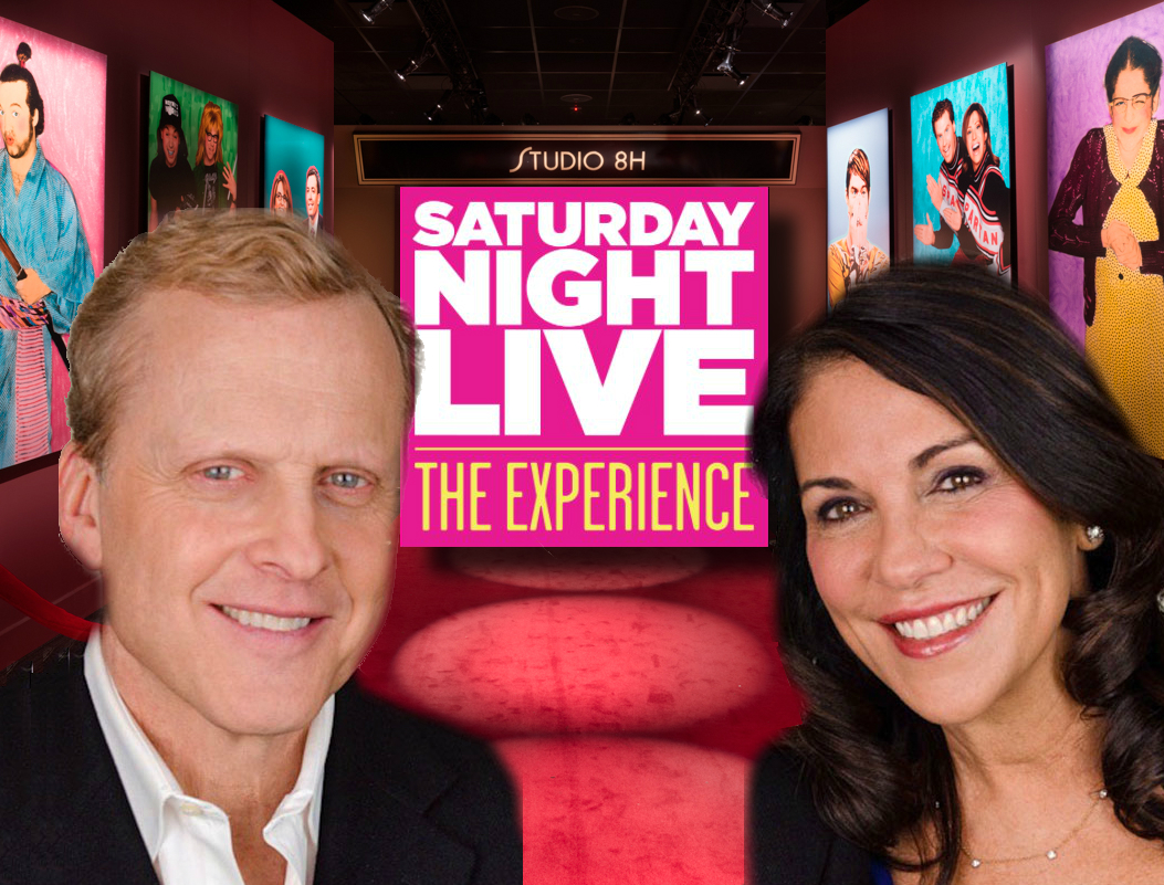 Sirott and Murciano goes behind the scenes at Saturday Night Live: The Experience