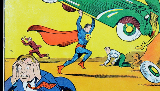 'Death Dealer' painting outshines Superman comic at auction