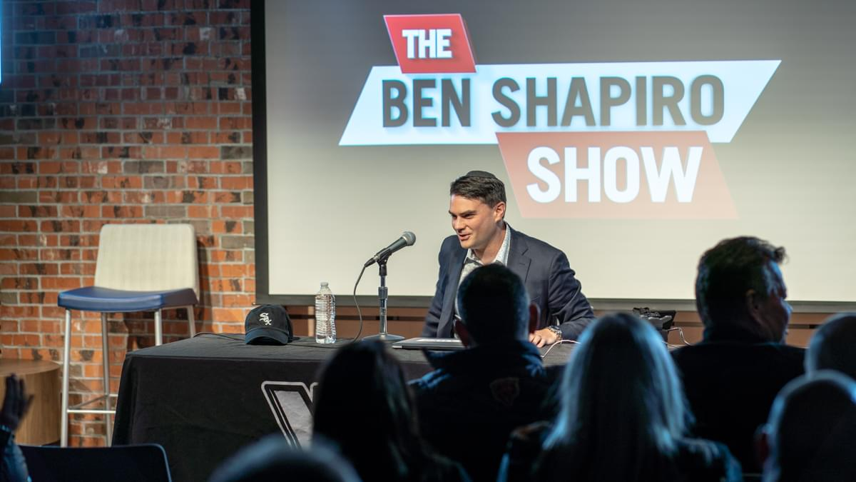 The Ben Shapiro Show, LIVE podcast from The Lounge