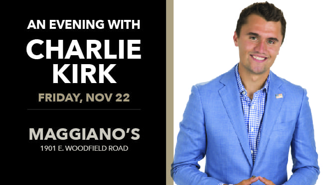 11/22/19 – An Evening with Charlie Kirk