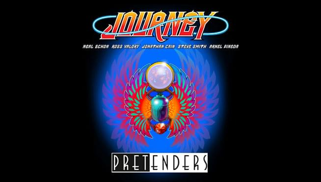 See Journey and Pretenders at the Hollywood Casino Amphitheater!