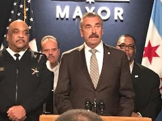 Retired LA police chief Charlie Beck is Mayor Lightfoot's choice for interim police supt