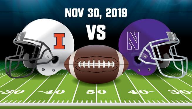 11/30/19 – ILLINOIS VS Northwestern