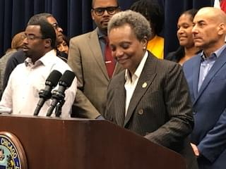 Mayor Lightfoot celebrates 39-11 approval of her first city budget