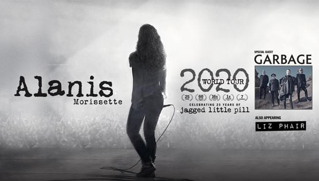 Win tickets to see Alanis Morissette!
